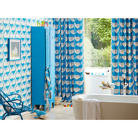 Buy scion whale of a time wallpaper john lewis for Purchase wallpaper