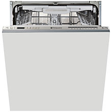 Buy Hotpoint LTF11S112OUK Integrated Dishwasher, White Online at johnlewis.com