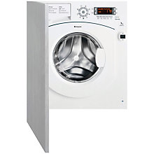 Buy Hotpoint BHWMD742 Integrated Washing Machine, 7kg Load, A++ Energy Rating, 1400rpm Spin, White Online at johnlewis.com