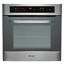 Buy Hotpoint SH103P0X Ultima Built In Multifunction Single Oven, Black Online at johnlewis.com