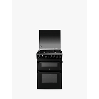 buy cheap indesit black oven compare cookers ovens. Black Bedroom Furniture Sets. Home Design Ideas