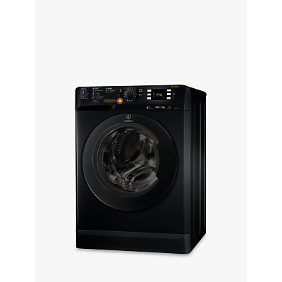 Indesit Innex XWDE751480XK Freestanding Washer Dryer 7kg Wash5kg Dry Load A Energy Rating 1400rpm Spin Black