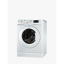 Buy Indesit Innex XWDE751480XW Freestanding Washer Dryer, 7kg Wash/5kg Dry Load, A Energy Rating, 1400rpm Spin, White Online at johnlewis.com