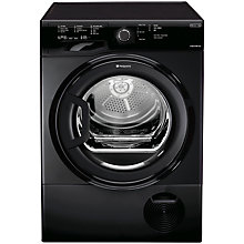 Buy Hotpoint TCFS83BGK Condenser Tumble Dryer, 8kg Load, B Energy Rating, Black Online at johnlewis.com