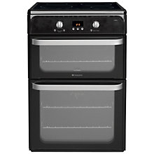 Buy Hotpoint Ultima HUI612 Freestanding Electric Induction Cooker Online at johnlewis.com