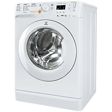 Buy Indesit Innex XWDA751480XW Freestanding Washer Dryer, 7kg Wash/5kg Dry Load, A Energy Rating, 1400rpm Spin, White Online at johnlewis.com