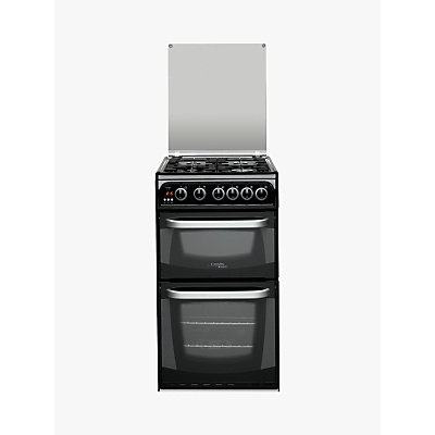 Hotpoint Cannon CH50GCIK.0 Freestanding Gas Cooker Black