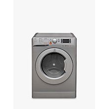 Buy Indesit Innex XWDE751480XS Freestanding Washer Dryer, 7kg Wash/5kg Dry Load, A Energy Rating, 1400rpm Spin, Silver Online at johnlewis.com