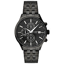 Buy Sekonda 1158.27 Men's Chronograph Bracelet Strap Watch, Black Online at johnlewis.com
