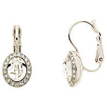 Buy Cachet Tahira Montana Swarovski Crystal Drop Earrings, Silver/White Online at johnlewis.com
