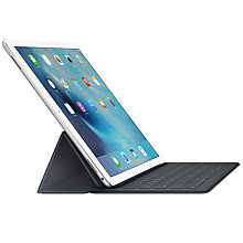"Buy Apple Smart Keyboard for 12.9"" iPad Pro, Grey Online at johnlewis.com"
