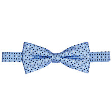Buy John Lewis Multi Dot Bow Tie, Sky Blue Online at johnlewis.com