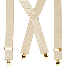 Buy John Lewis Woven Stripe Braces, One Size Online at johnlewis.com