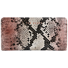 Buy Ted Baker Anassi Faux Snake Print Exotic Purse, Mutli Online at johnlewis.com