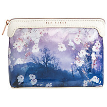 Buy Ted Baker Aldine Makeup Bag, Blue Online at johnlewis.com