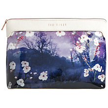Buy Ted Baker Annbett Extra Large Washbag, Blue Online at johnlewis.com