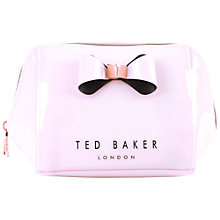 Buy Ted Baker Denty Bow Makeup Bag Online at johnlewis.com