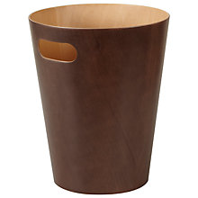 Buy Umbra Wood Wastepaper Bin Online at johnlewis.com