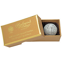 Buy Charbonnel et Walker Milk Chocolate Sea Salt Gold Ballotin Caramel Truffles Online at johnlewis.com