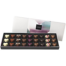 "Buy Hotel Chocolat Valentines ""Sleekster"" Chocolate Truffle Box, Assorted, 290g Online at johnlewis.com"