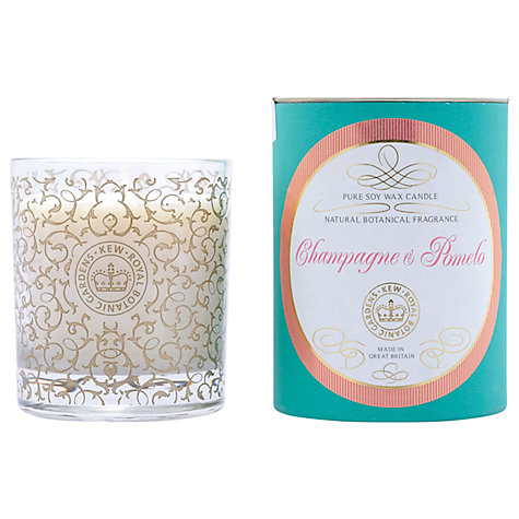 Buy Kew Gardens Champagne & Pomelo Scented Candle | John Lewis