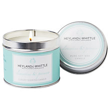 Buy Heyland & Whittle Clementine & Prosecco Scented Candle Tin Online at johnlewis.com