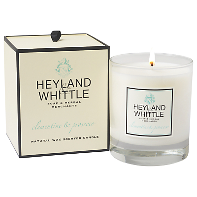 Heyland & Whittle Clementine & Prosecco Scented Candle
