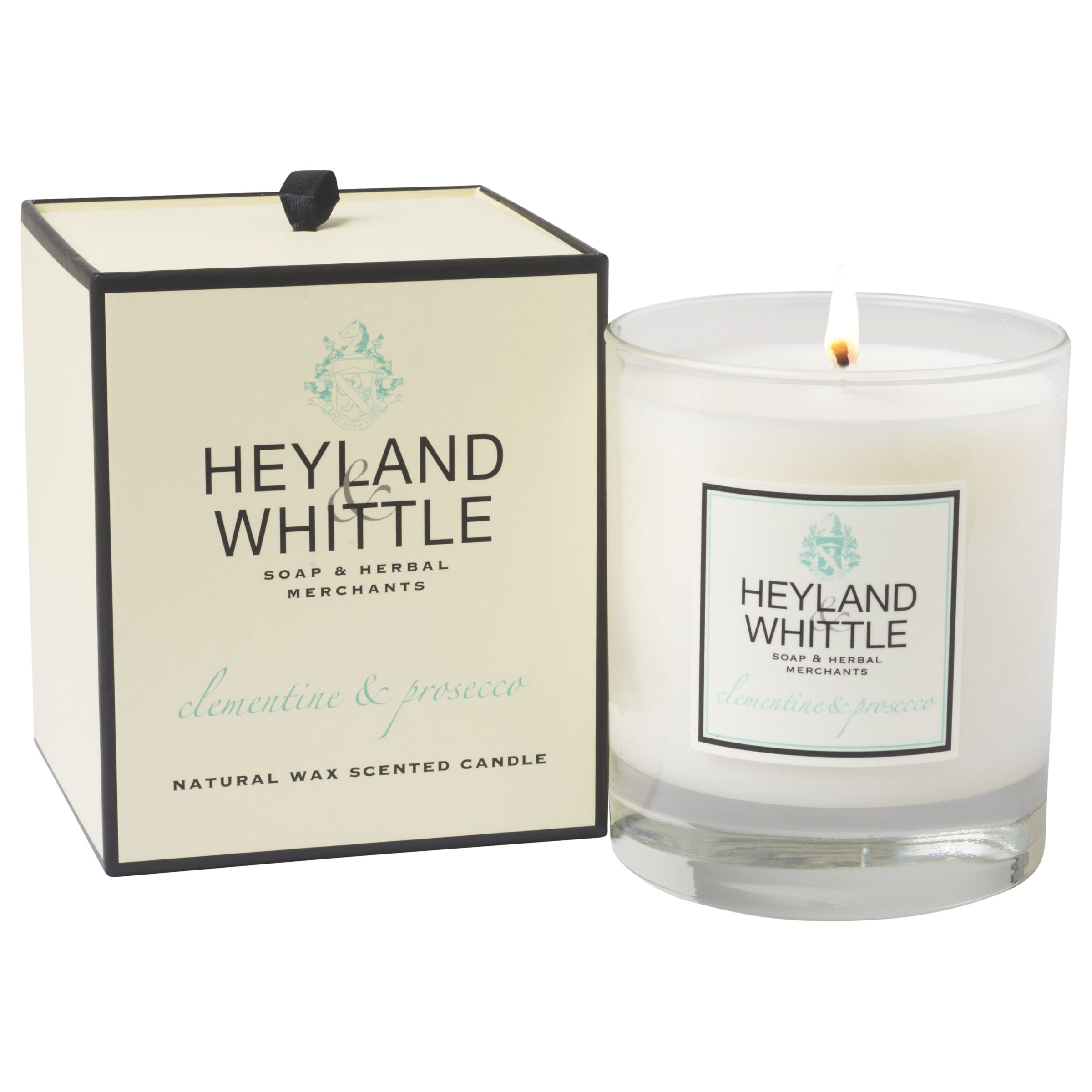 Heyland & Whittle Heyland & Whittle Clementine & Prosecco Scented Candle
