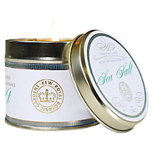 Buy Kew Gardens Seasalt Scented Candle Tin Online at johnlewis.com