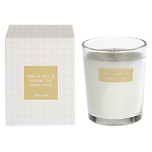 Buy John Lewis Bergamot and Green Tea Boxed Candle Online at johnlewis.com