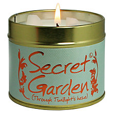 Buy Lily-Flame Secret Garden Scented Candle Tin Online at johnlewis.com
