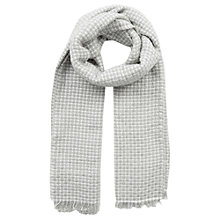 Buy Oasis Ice Sparkle Scarf, Mid Grey Online at johnlewis.com