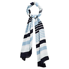 Buy Viyella Stripe Scarf Online at johnlewis.com