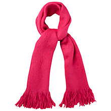 Buy White Stuff Simone Mohair Blend Scarf, Pink Online at johnlewis.com