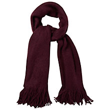 Buy White Stuff Simone Scarf, Berry Online at johnlewis.com