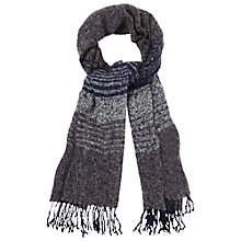 Buy White Stuff Hannah Stripe Midnight Scarf, Navy Online at johnlewis.com