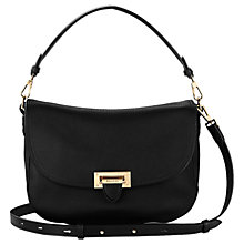 Buy Aspinal of London Letterbox Slouchy Saddle Bag Online at johnlewis.com