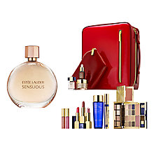 Buy Estée Lauder Sensuous Eau de Parfum Spray, 50ml with The Makeup Artist Collection Online at johnlewis.com
