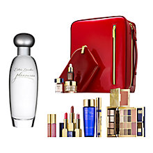Buy Estée Lauder Pleasures Eau de Parfum, 50ml with The Makeup Artist Collection Online at johnlewis.com