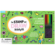 Buy The Stamp and Draw Activity Kit Online at johnlewis.com