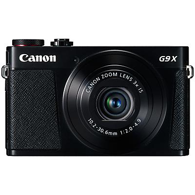 Canon PowerShot G9 X Digital Camera, 1080p, 20MP, 3x Optical Zoom, OIS, NFC, Wi-Fi, 3 Touch Screen