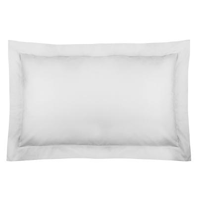 John Lewis 400 Thread Count Cotton Satin Oxford Pillowcase