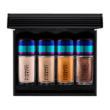 Buy MAC Irresistibly Charming Pigments and Glitter Makeup Gift Set, Gold Online at johnlewis.com