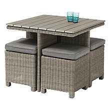Buy KETTLER Palma Cube Table & Chairs Set Online at johnlewis.com