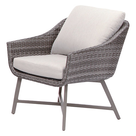 buy kettler lamode lounge chair with cushion john lewis. Black Bedroom Furniture Sets. Home Design Ideas