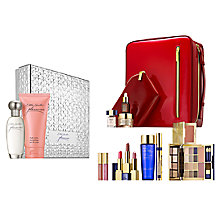 Buy Estée Lauder Pleasures Captivating 30ml Eau de Parfum Fragrance Gift Set with The Makeup Artist Collection Online at johnlewis.com
