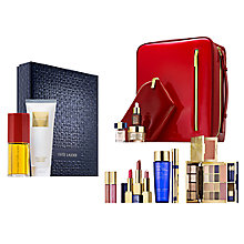 Buy Estée Lauder Cinnabar Exotic Duo Fragrance Gift Set with The Makeup Artist Collection Online at johnlewis.com