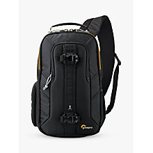 Buy Lowepro Slingshot Edge 150 AW Camera and Tablet Backpack, Black Online at johnlewis.com