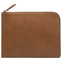 Buy Mulberry Natural Leather Tech Pouch Online at johnlewis.com