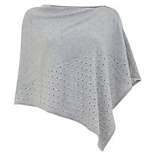 Buy Mint Velvet Stripe Poncho, Grey Online at johnlewis.com